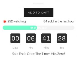 Ecommerce Countdown Timer